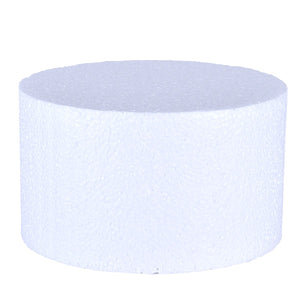 Foam Cake Dummies - 7x4 Round Bake Supply Plus Cake Dummy Round - Bake Supply Plus