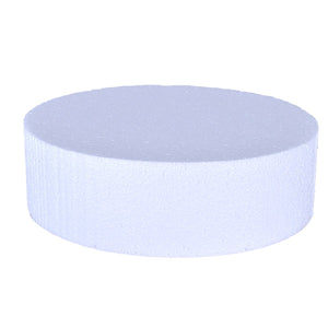 Foam Cake Dummies - 10x4 Round Bake Supply Plus Cake Dummy Round - Bake Supply Plus