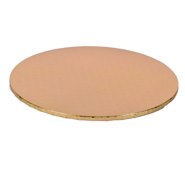 Gold Circle Cake Drums — All Sizes