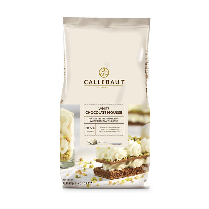 Callebaut Instant Powder for White Chocolate Mousse