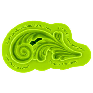 Left Prime Swirl Marvelous Molds Silicone Mold - Bake Supply Plus