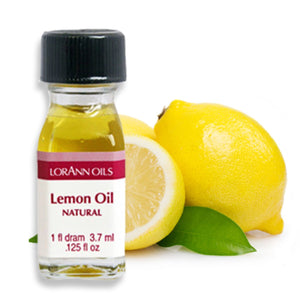 Lemon Oil, Natural Flavor 1 Dram LorAnn Oils Flavoring - Bake Supply Plus