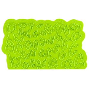 Leopard Onlay® Marvelous Molds Silicone Mold - Bake Supply Plus