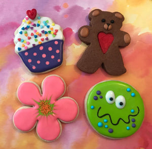 3/21 - 10:00 - 1:00 Let's Decorate Cookies, Instructor: Pat Ashley Howard Bake Supply Plus Class - Bake Supply Plus