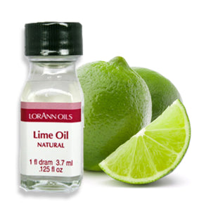 Lime Oil, Natural Flavor 1 Dram LorAnn Oils Flavoring - Bake Supply Plus