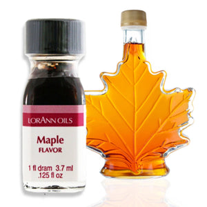 Maple Flavor 1 Dram LorAnn Oils Flavoring - Bake Supply Plus