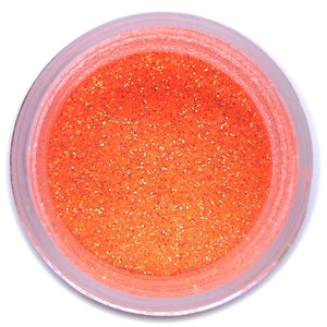Miami Orange Disco Dust Sunflower Sugar Art Disco Dust - Bake Supply Plus