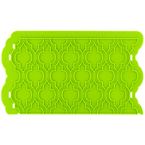 Maroccan Lattice Onlay® Marvelous Molds Silicone Mold - Bake Supply Plus