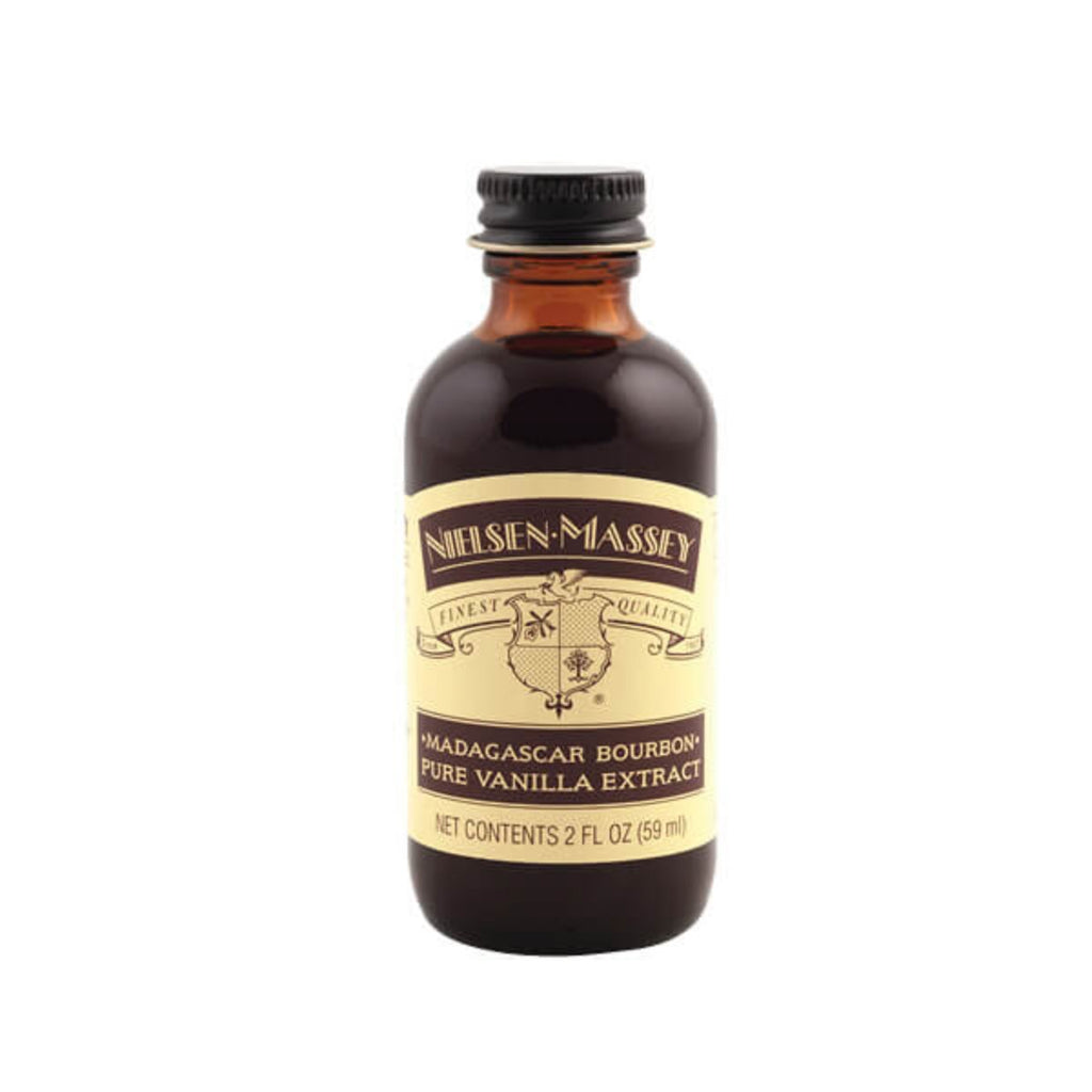 Madagascar Bourbon Pure Vanilla Extract  — 2, 4, & 8 oz Nielsen-Massey Extract - Bake Supply Plus