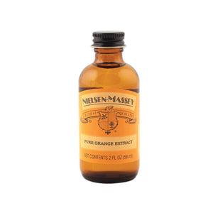 Pure Orange Extract — 2 & 4 oz Nielsen-Massey Extract - Bake Supply Plus