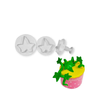 Ivy Leaf Plunger Cutter - Small NY Cake Fondant Cutter - Bake Supply Plus