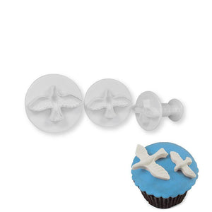 Dove Plunger Cutter NY Cake Fondant Cutter - Bake Supply Plus