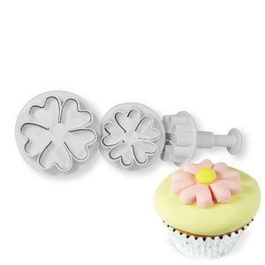 Primrose Plunger Cutter Set NY Cake Fondant Cutter - Bake Supply Plus