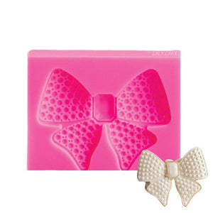 Diamond Encrusted Bow Mold NY Cake Silicone Mold - Bake Supply Plus