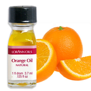 Orange Oil, Natural Flavor 1 Dram LorAnn Oils Flavoring - Bake Supply Plus