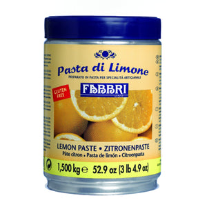 Fabbri Lemon Delipaste/Compound Fabbri Flavoring Paste - Bake Supply Plus