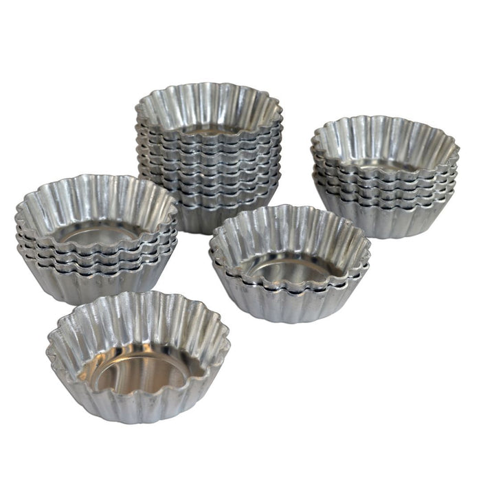 Fat Daddio's Mini Tartlet Pans 20 count — All Sizes