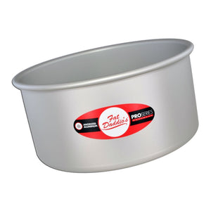 Fat Daddio's Round Cake Pans — All Sizes Fat Daddio's Pan - Bake Supply Plus