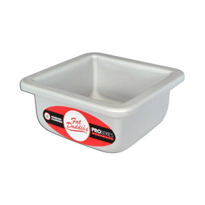 Fat Daddio's Square Cake Pans — All Sizes Fat Daddio's Square Pan - Bake Supply Plus