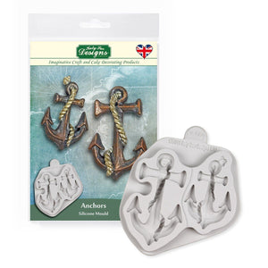 Katy Sue Anchors Silicone Mold