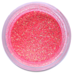 Peach Disco Dust Sunflower Sugar Art Disco Dust - Bake Supply Plus