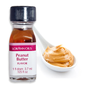 Peanut Butter Flavor 1 Dram LorAnn Oils Flavoring - Bake Supply Plus