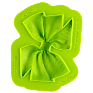 Pinwheel Bow Mold Marvelous Molds Silicone Mold - Bake Supply Plus