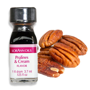 Pralines and Cream Flavor 1 Dram LorAnn Oils Flavoring - Bake Supply Plus