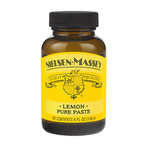 Lemon Paste 4 oz Nielsen-Massey Flavor Paste - Bake Supply Plus