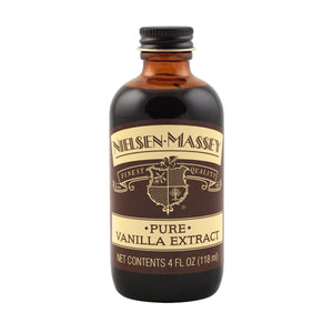 Pure Vanilla Extract  — 2, 4, 8, & 32 oz Nielsen-Massey Extract - Bake Supply Plus