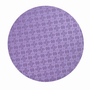 Lilac Circle Cake Drums — All Sizes Whalen Packaging Cake Drum - Bake Supply Plus