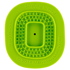 Roxy Buckle Mold Marvelous Molds Silicone Mold - Bake Supply Plus