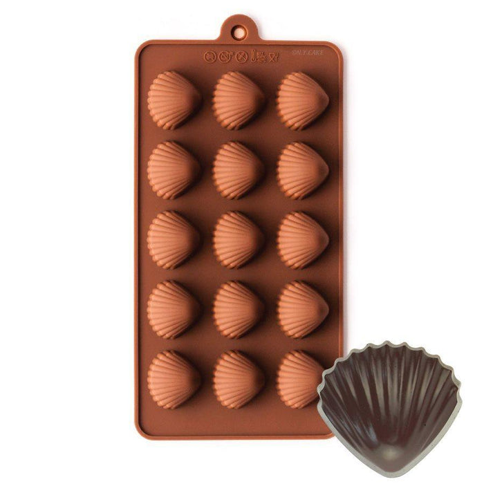 Seashells Silicone Chocolate Mold