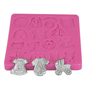 Baby Shower Silicone Mold NY Cake Silicone Mold - Bake Supply Plus