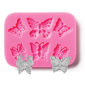 Assorted Butterfly Silicone Mold NY Cake Silicone Mold - Bake Supply Plus