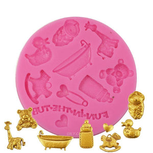 Baby Things Silicone Mold NY Cake Silicone Mold - Bake Supply Plus