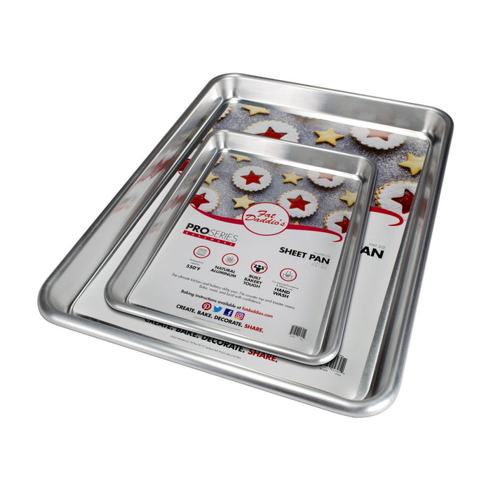 Fat Daddio's Aluminum Sheet Pans — All Sizes