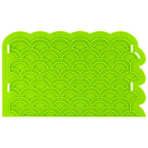 Scalloped Lattice Onlay® Marvelous Molds Silicone Mold - Bake Supply Plus