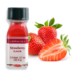 Strawberry Flavor 1 Dram LorAnn Oils Flavoring - Bake Supply Plus