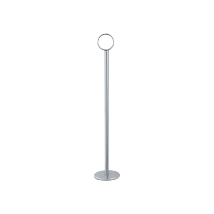 "Winco 12"" Table Number Holder Chrome"