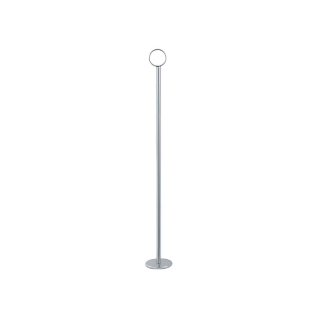 "Winco 18"" Table Number Holder Chrome"