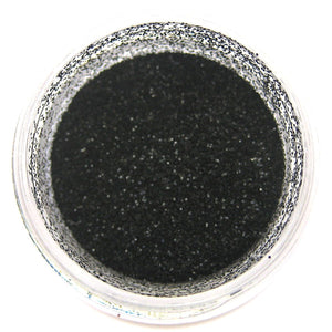 True Black Disco Dust Sunflower Sugar Art Disco Dust - Bake Supply Plus