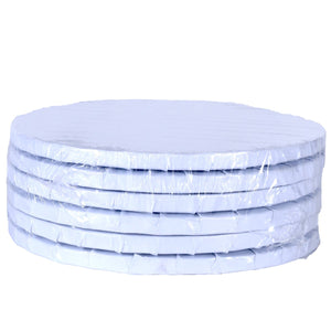 White Circle Cake Drums — All Sizes Whalen Packaging Cake Drum - Bake Supply Plus