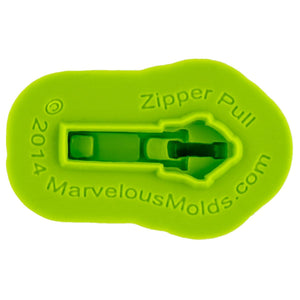 Zipper & Pull Mold Marvelous Molds Silicone Mold - Bake Supply Plus