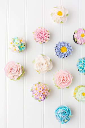4/1 - 10:00 - 1:00 Spring Cupcakes, Artist Pat Ashley Howard Bake Supply Plus Class - Bake Supply Plus