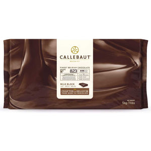 Callebaut Milk Chocolate N° 823 Blocks Callebaut Chocolate Block - Bake Supply Plus