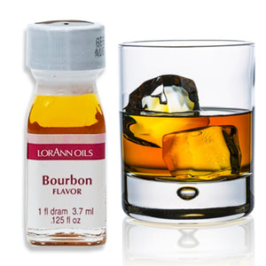 Bourbon Flavor 1 Dram LorAnn Oils Flavoring - Bake Supply Plus