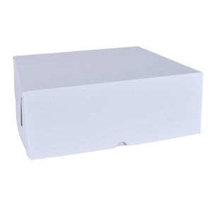 White Cake Boxes - 10x10x5.5 Bake Supply Plus Box - Bake Supply Plus