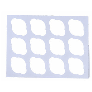 Cupcake Inserts — All Sizes Whalen Packaging Cupcake Insert - Bake Supply Plus