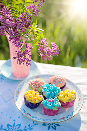 4/2 - 12PM - 3PM, Piping 102 - Buttercream Flower, Instructor: Chef Lucy Ayerbe Bake Supply Plus Class - Bake Supply Plus
